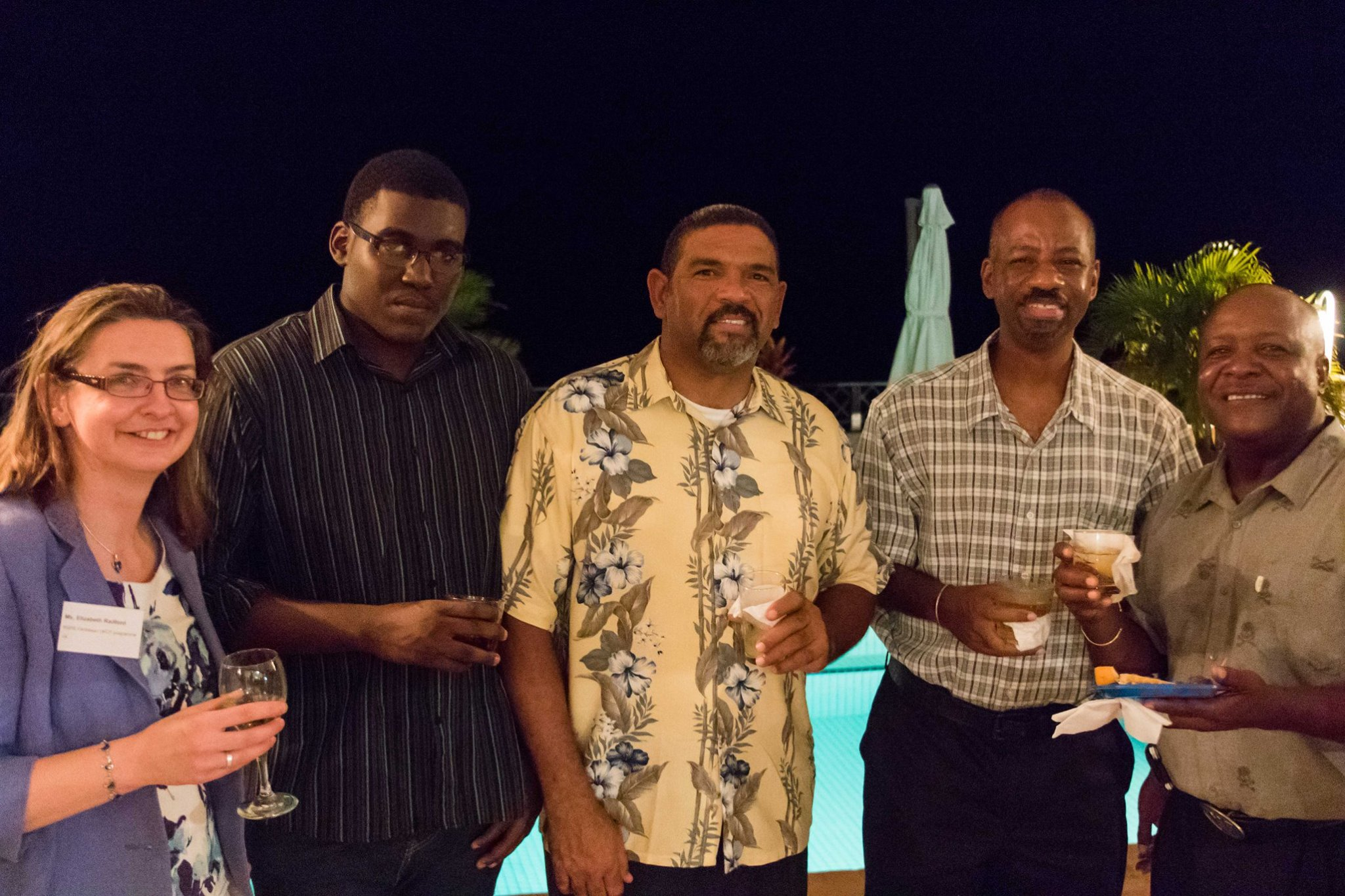 Cocktail at the Governor House with local stakeholders