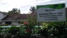 Entrance to MNT Headquarters and Botanic Garden