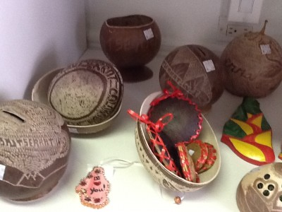 These are very popular this week as it is Calabash Festival Week.