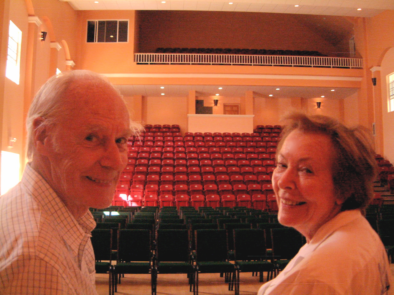 Sir George and Lady Martin at The Cultural Center